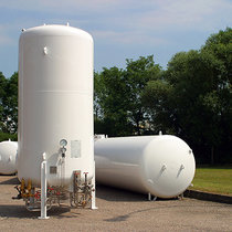 Air gas storage