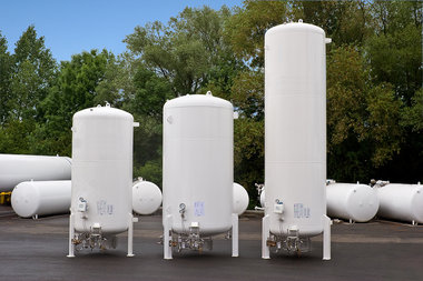 Air gas cryogenic storage equipments