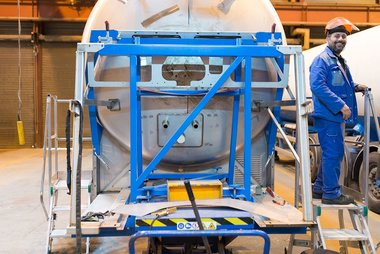 Cryogenic transport for air gas | Cryolor